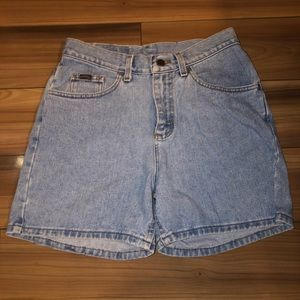 Vintage High Waisted Jean Shorts